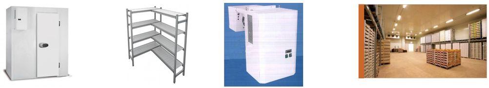 Armoire réfrigérée, Etagéré, Groupe frigorifique, Chambre froide industrielles