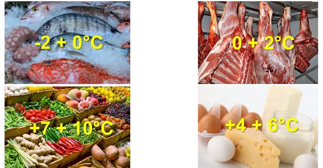 Les bonnes températures de conservation des produits dans les chambres froides